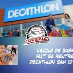 [École de Basket] La rentrée se fera à Décathlon