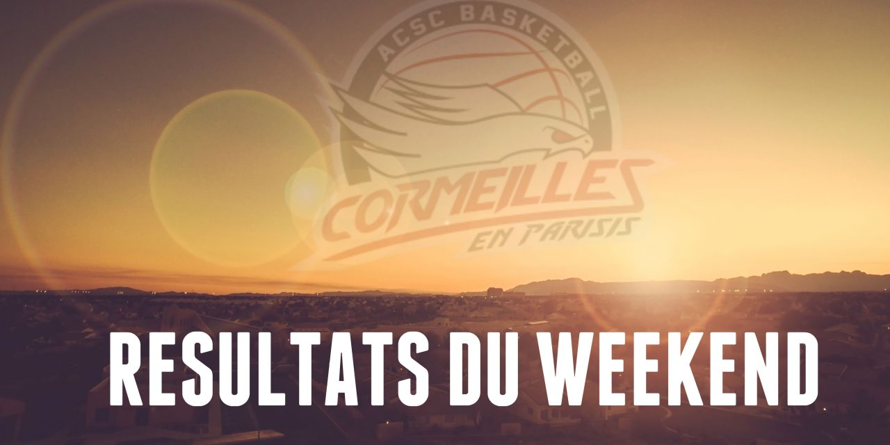 [Compétitions] Résultats du weekend du 14-15 jan