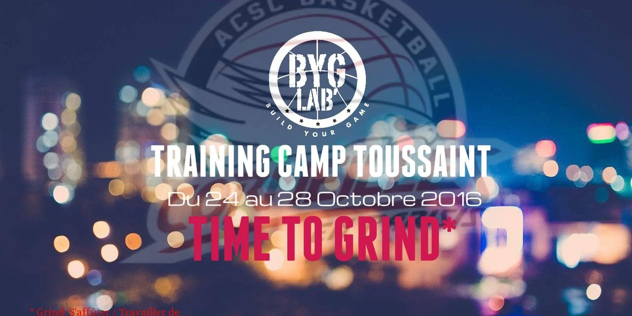 [Vidéo] Training Camp de la Toussaint