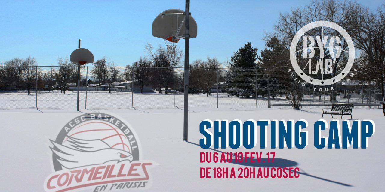 [PERFECTIONNEMENT] Camp dédié au SHOOT