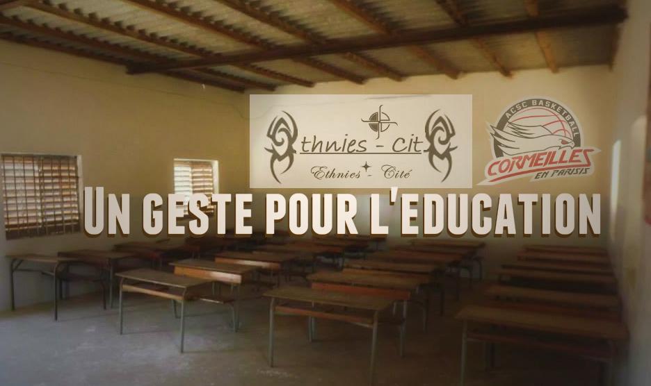 [Caritatif] L'ACSC Basket soutient Ethnies Cité