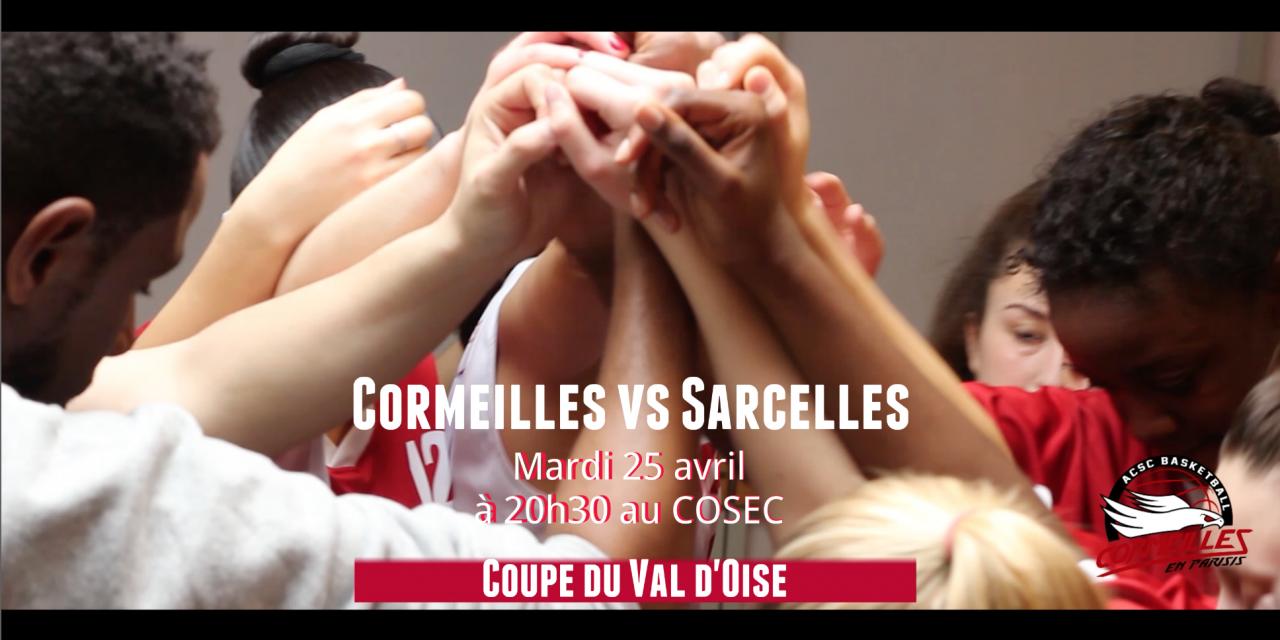 [Coupe du Val d'Oise] Mobilisons-nous pour la 1/2 finale SF1 !